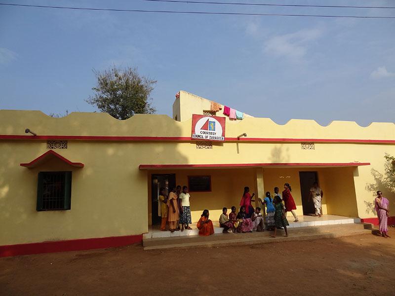 Edificación de una Residencia para chicas del Instituto