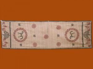 Camino de mesa de tassar (seda y lino)