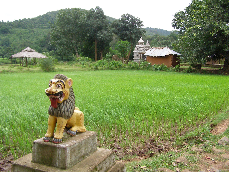 Paisaje Odisha cultura animista