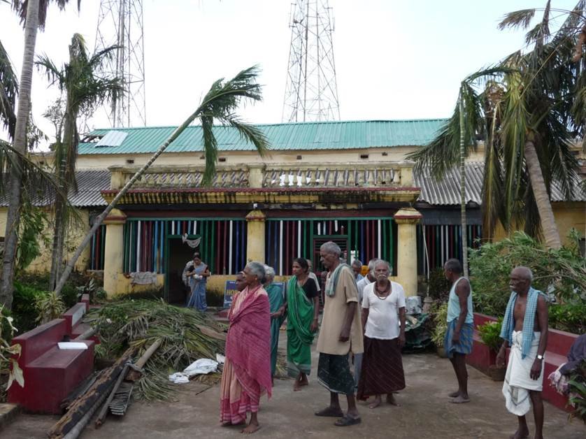 Carta de Mr. Mohanty sobre las consecuencias causadas por el ciclón Phailin