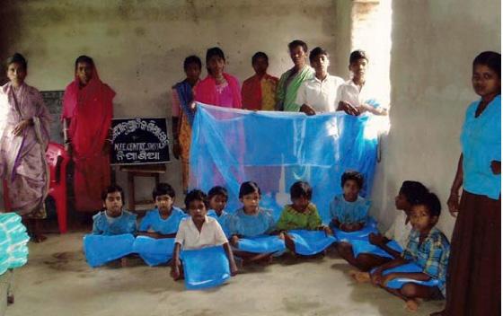 Prevención de malaria, campaña dental y programa de microcréditos