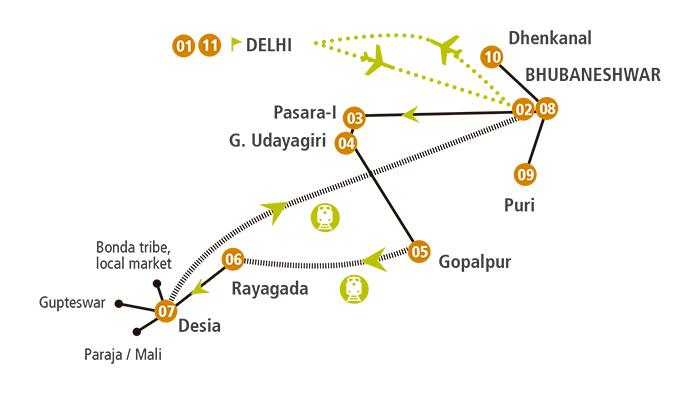 Viaje solidario a Odisha, India 2014