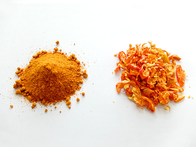 Especias de la India: el chile rojo
