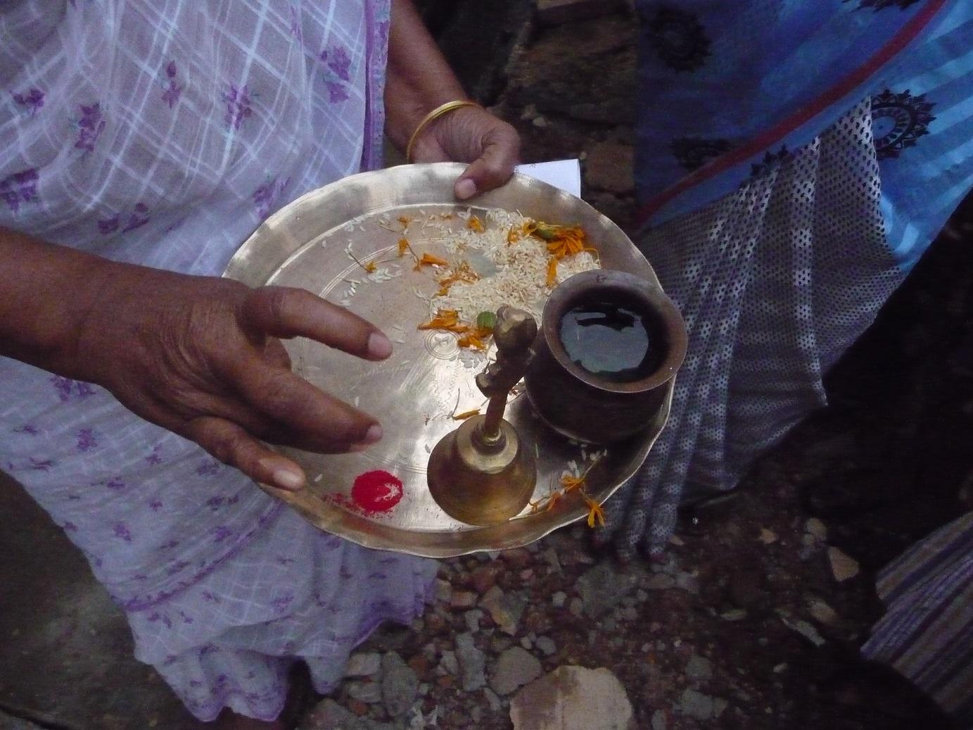 Tienda de especias en Bhubaneswar