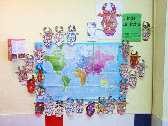 El proyecto Khira en el colegio Moliere