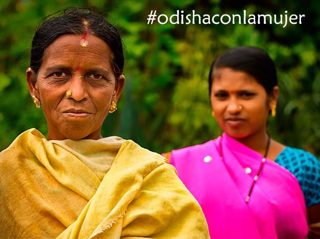 Odisha con la mujer
