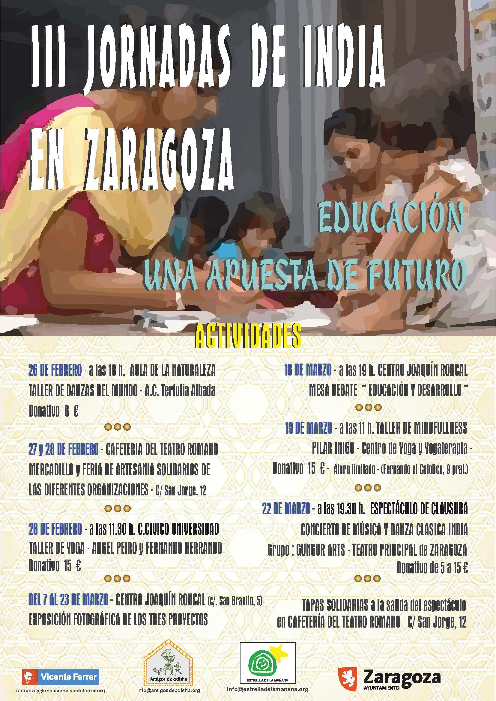III JORNADAS de India en Zaragoza