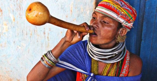 Mujer tribal Odisha (India)