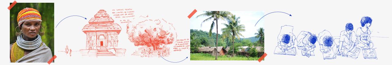 tribal odisha itinerario viaje