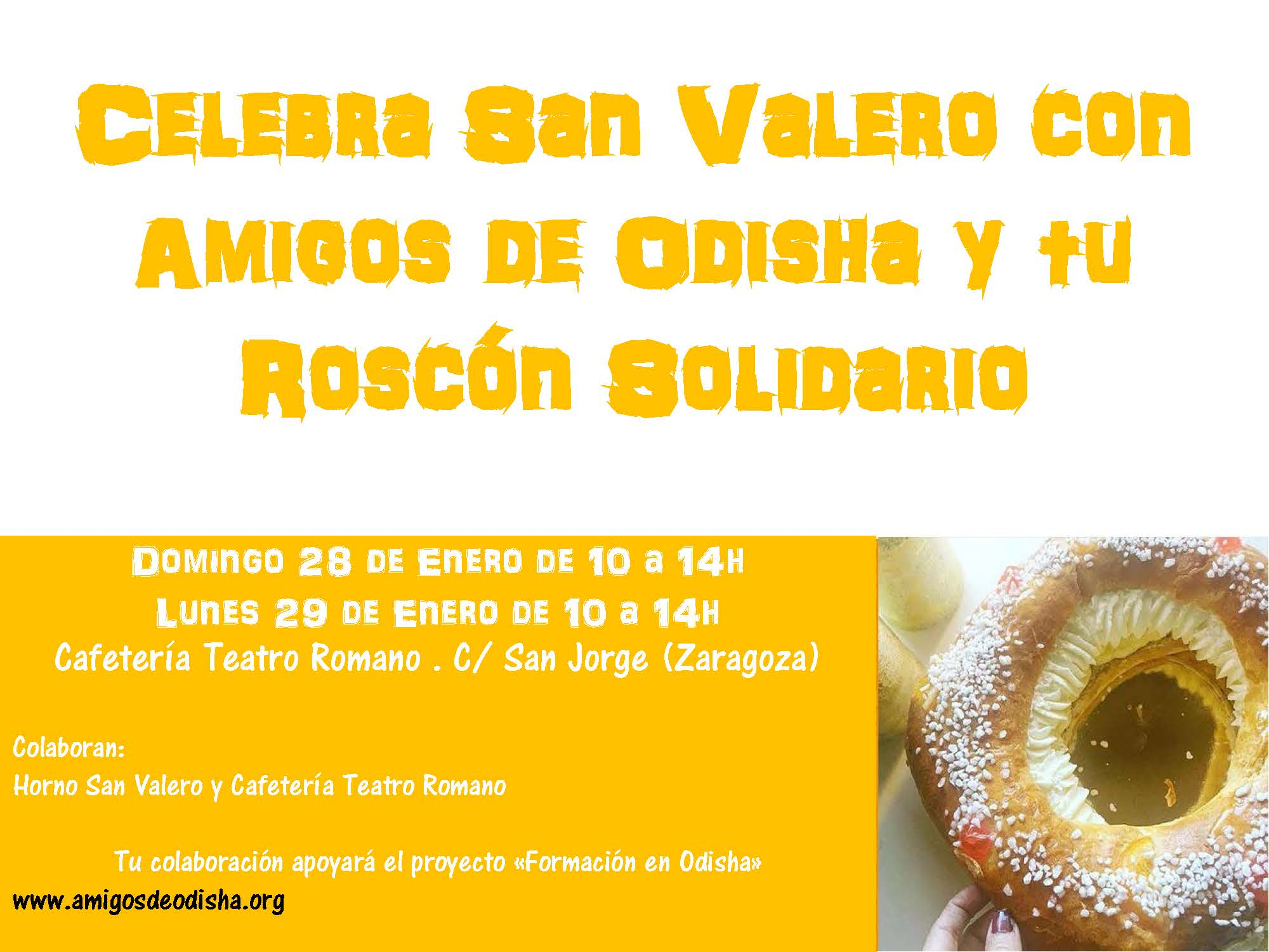 Roscón solidario en Zaragoza