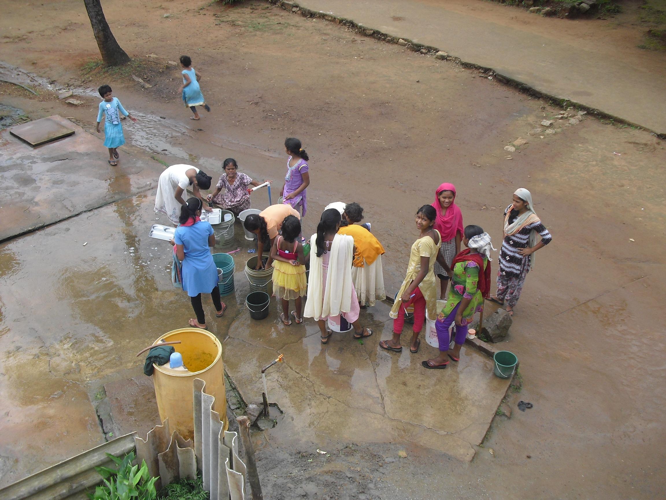 Impresiones de una voluntaria sobre el terreno. 3. G. Udayagiri
