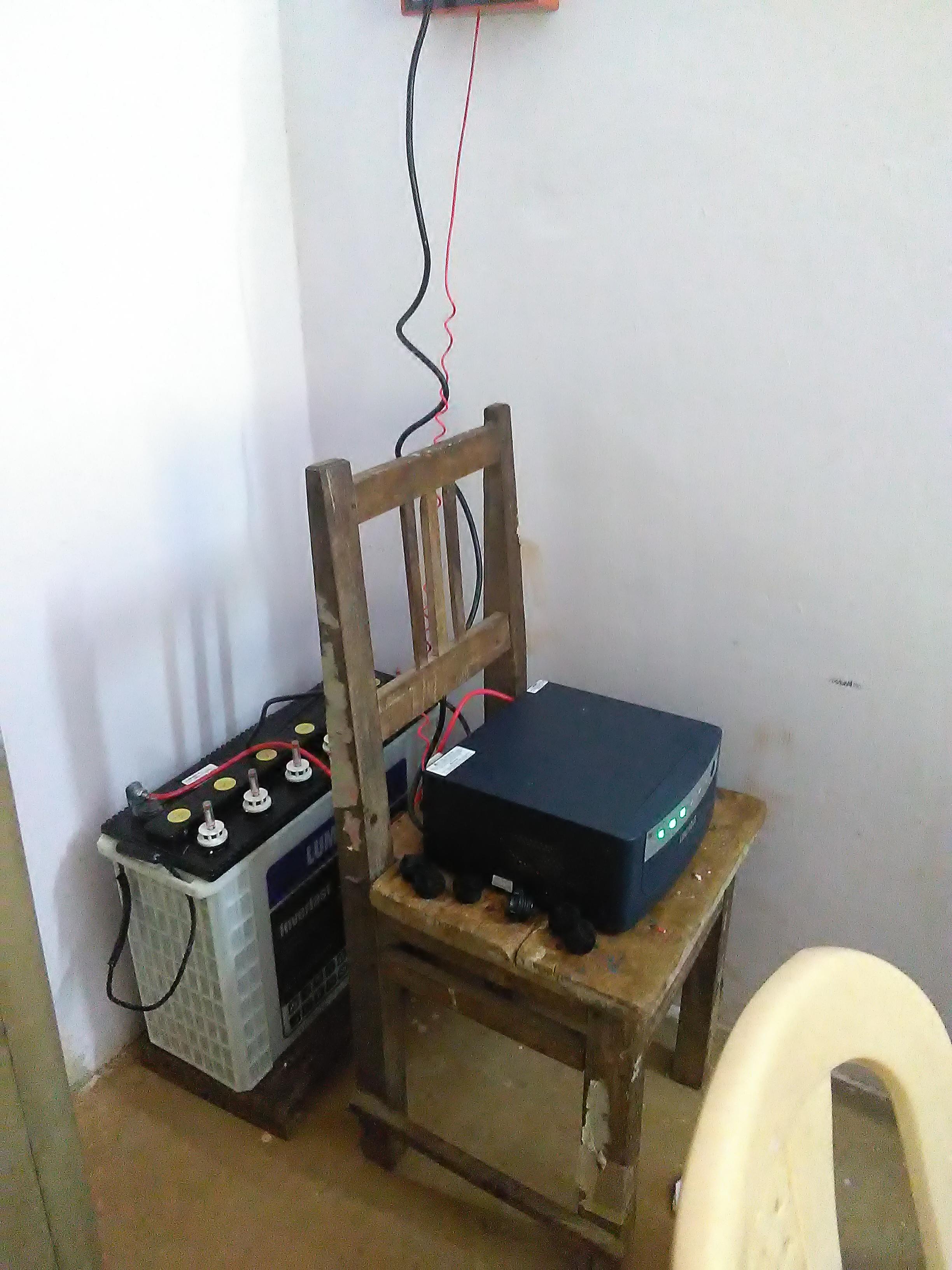 Ya tienen un generador las chicas en G. Udayagiri