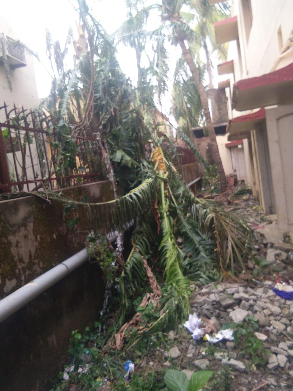 El Ciclón Fani azota Odisha