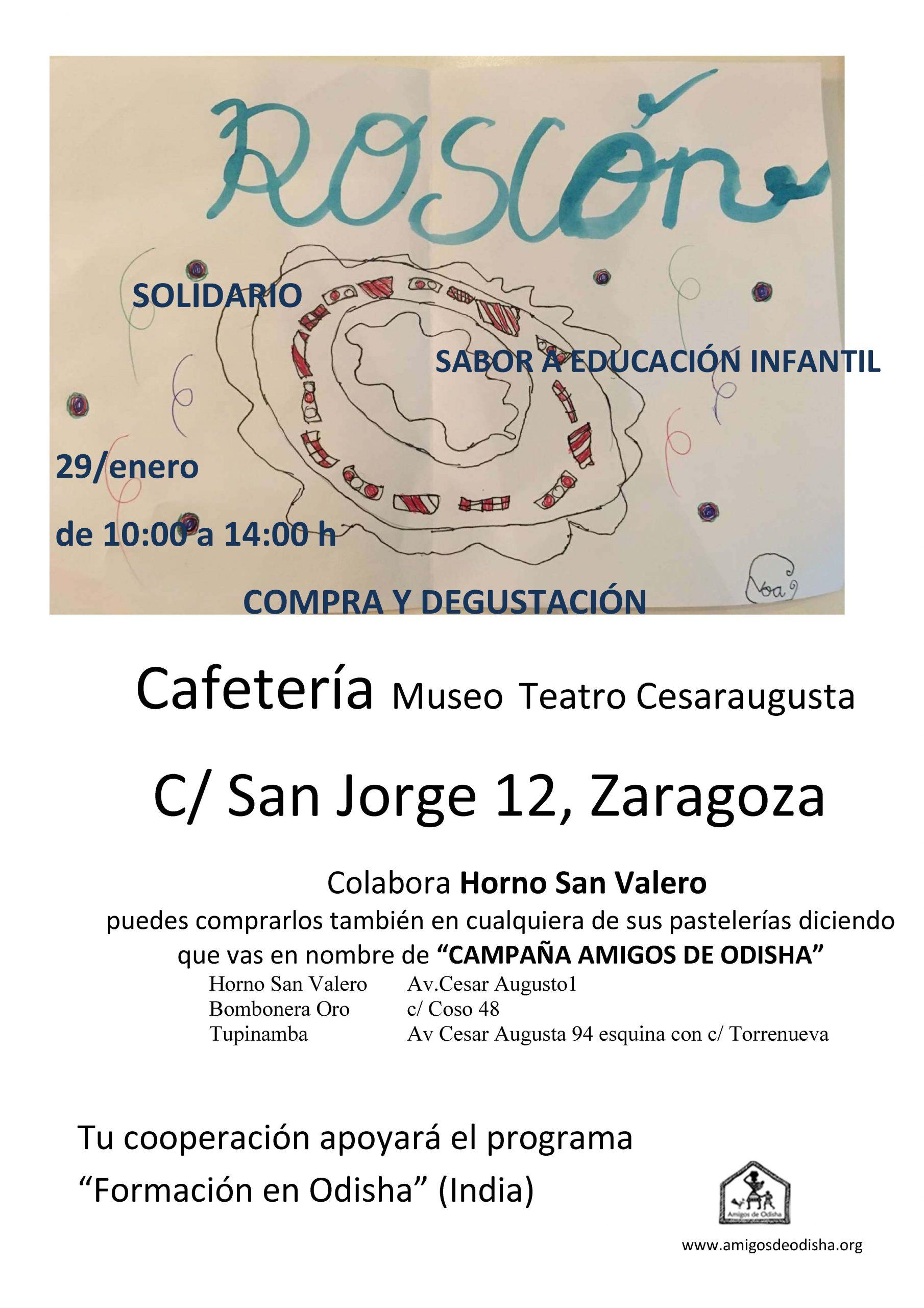 Roscón solidario en Zaragoza_2020