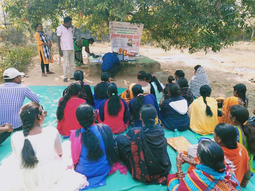 Hablando con educadores de Pasara