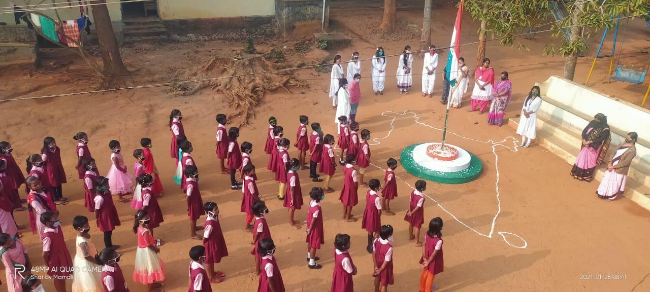 Celebraciones en los centros de Odisha