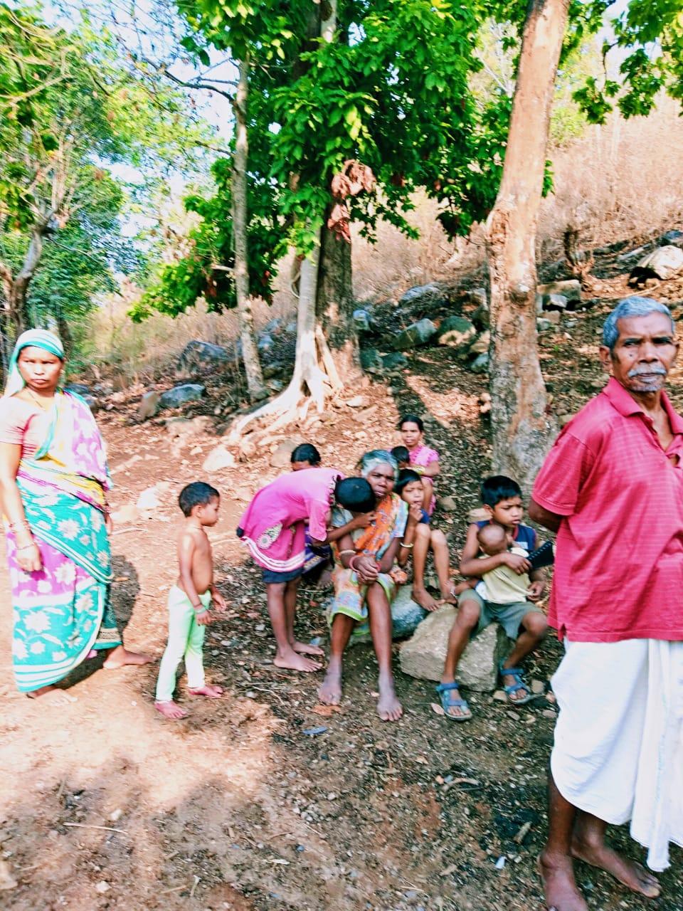 Campaña de apoyo Covid en Odisha