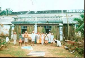 Reconstrucción de daños ocasionados por el ciclón