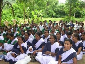Creación y consolidación de 50 escuelas en el bloque de Chakapad
