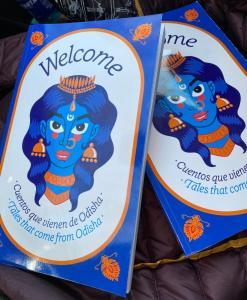 """Libro """"Cuentos que vienen de Odisha""""."""