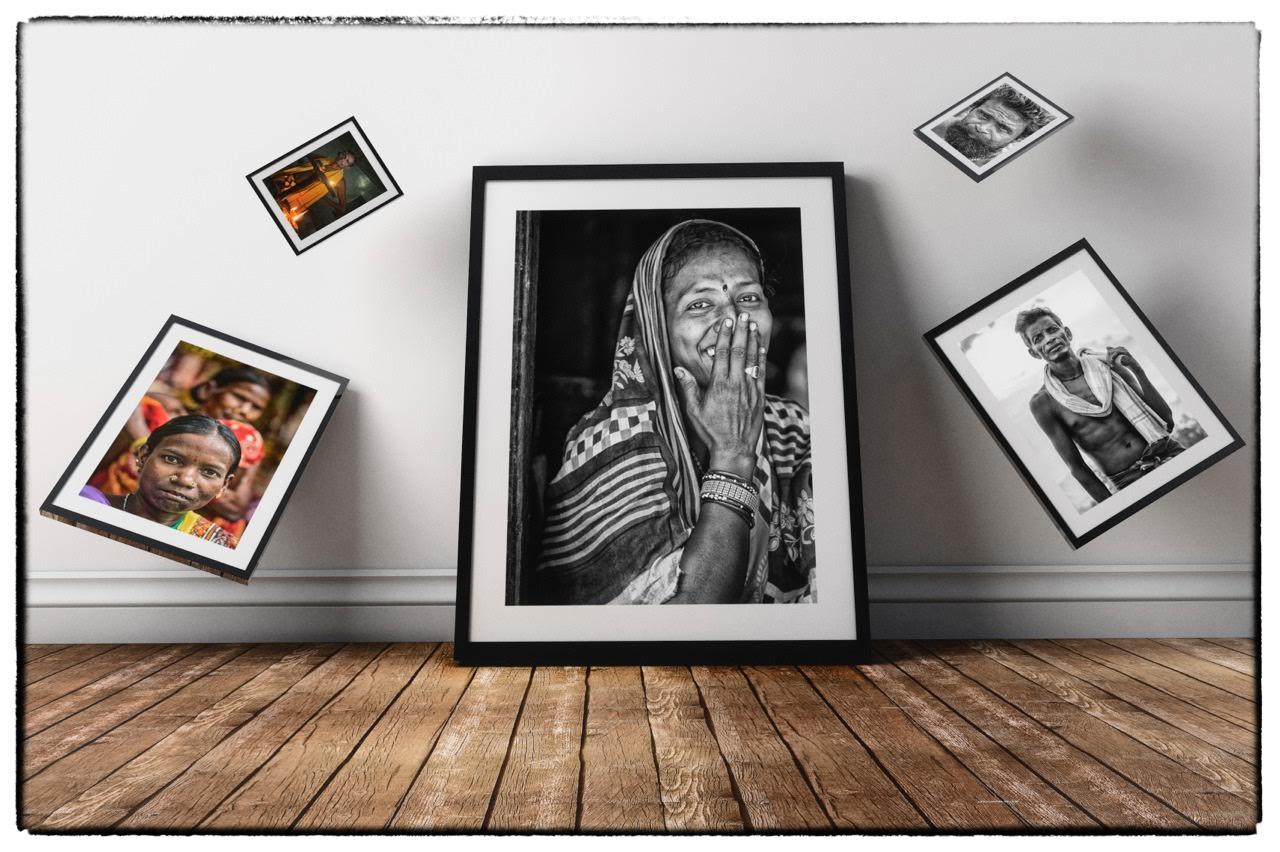 Mujer en Odisha, una mirada al futuro. Exposición de fotografías