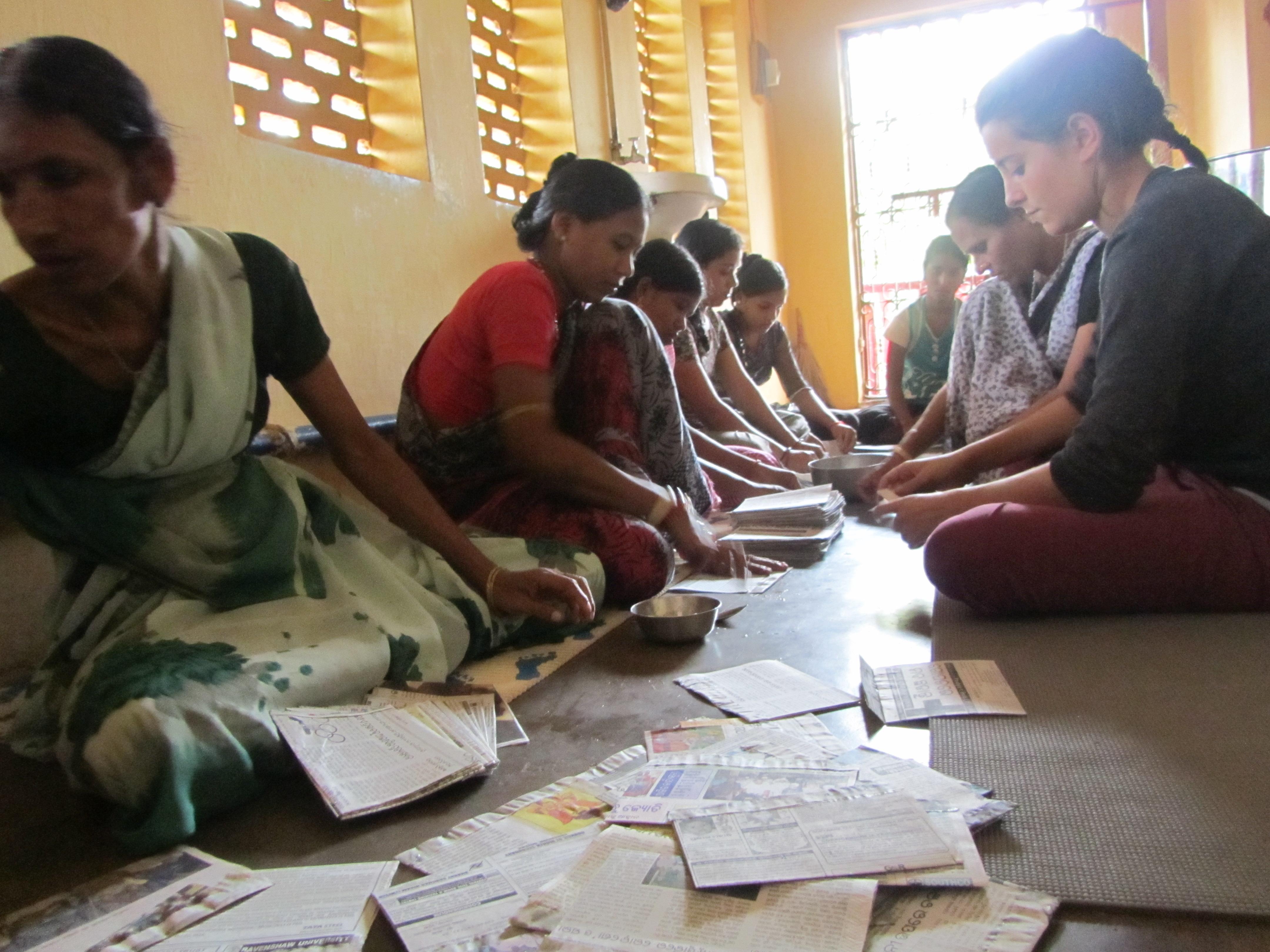 Mujer en Odisha, un programa con futuro