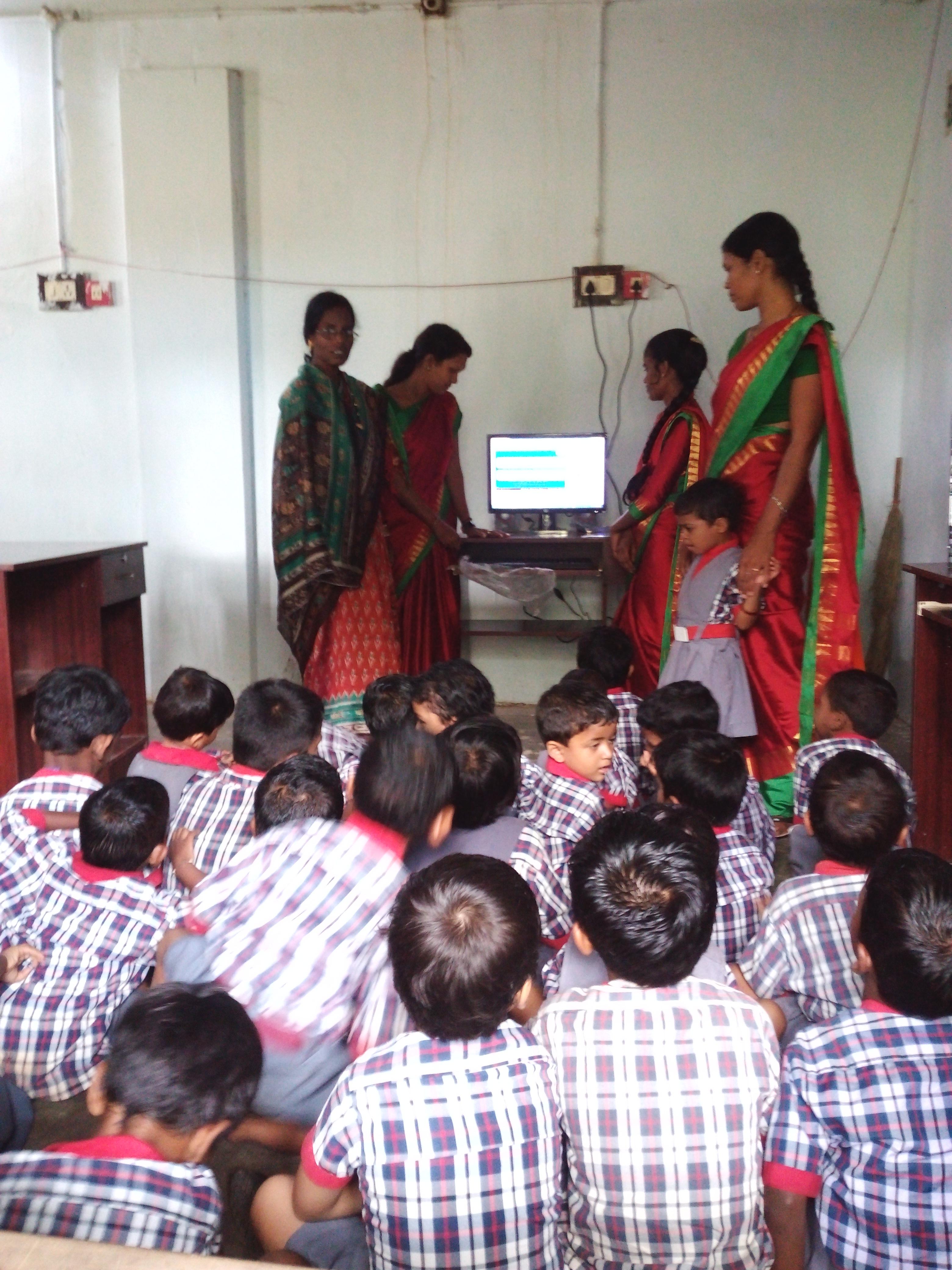 Educación preescolar en Pasara