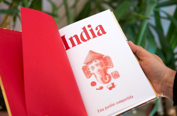 Edición del libro: India. Una pasión compartida
