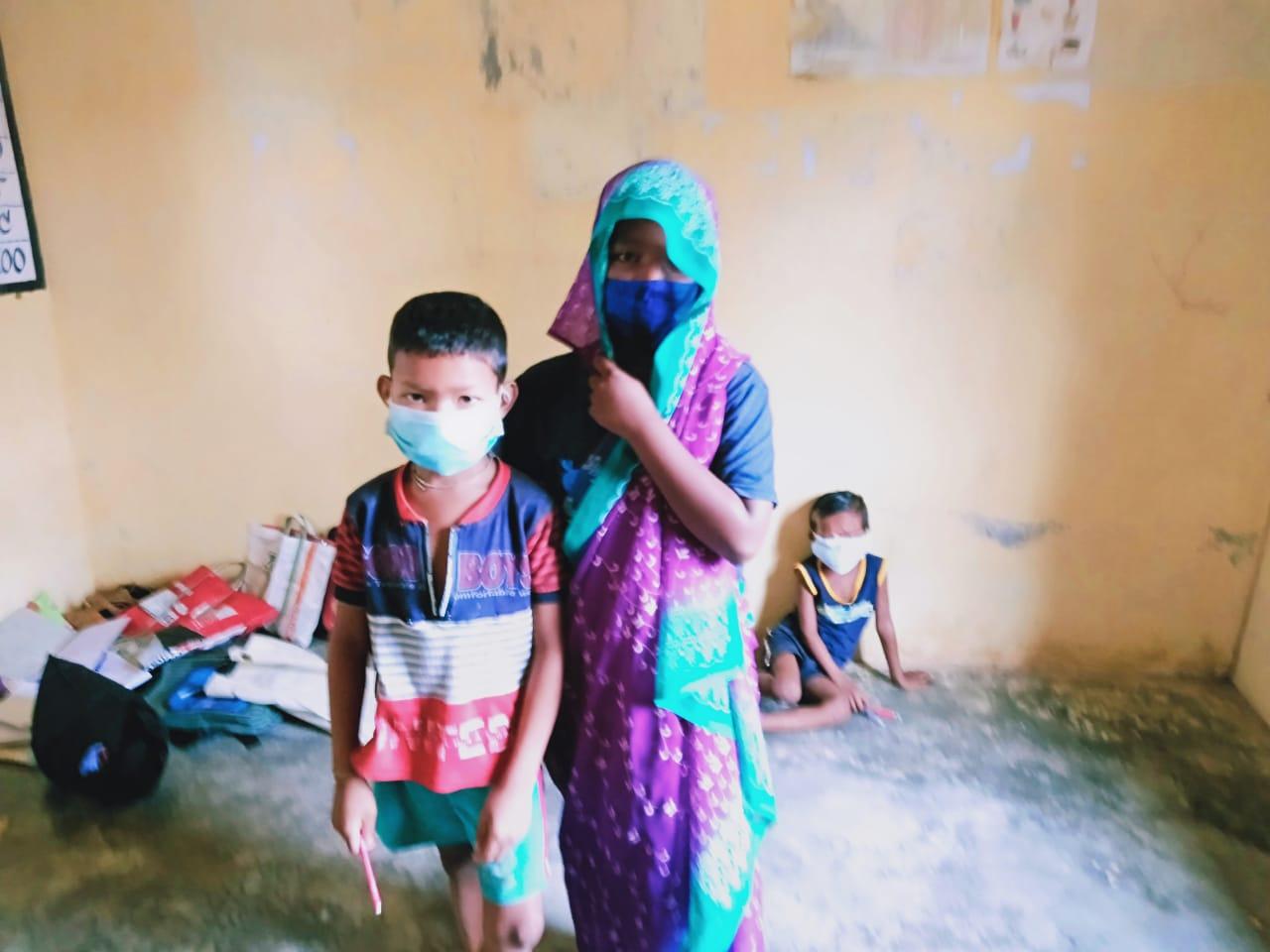 Apoyo sanitario en Odisha