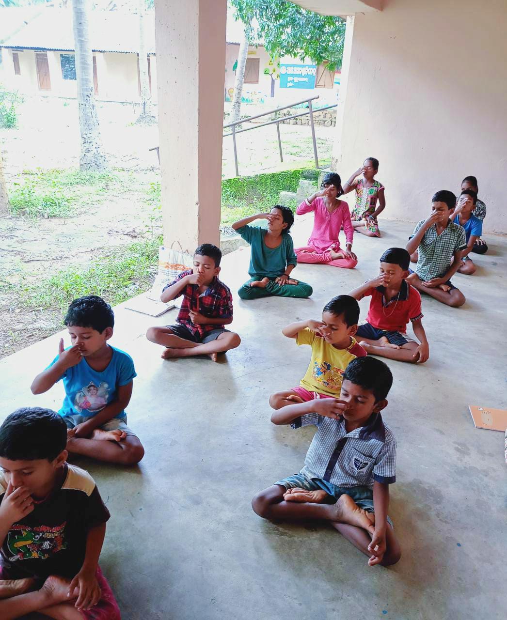 Programa educativo en Pasara